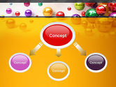 Shiny Colorful Balls PowerPoint Template#4