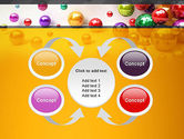 Shiny Colorful Balls PowerPoint Template#6