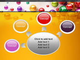 Shiny Colorful Balls PowerPoint Template#7