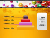 Shiny Colorful Balls PowerPoint Template#8