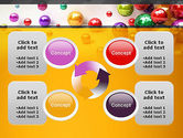 Shiny Colorful Balls PowerPoint Template#9