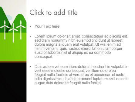 Clean Energy PowerPoint Template, Slide 3, 13102, Nature & Environment — PoweredTemplate.com