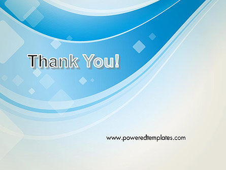 Pale Blue Wave PowerPoint Template Slide 20