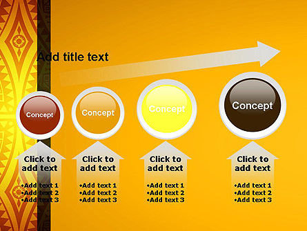 Ethnic Ornament PowerPoint Template Slide 13