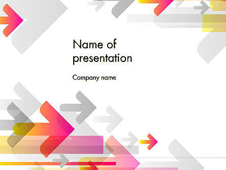 Purposeful PowerPoint Template, 13105, Business — PoweredTemplate.com