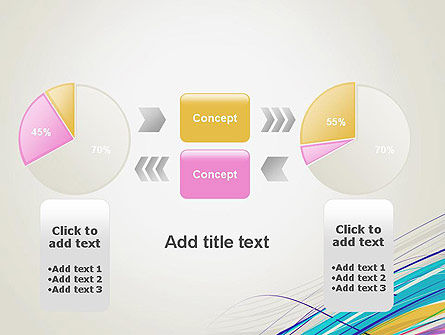 Thin Colorful Lines PowerPoint Template Slide 16