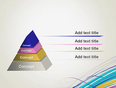 Thin Colorful Lines PowerPoint Template Slide 4