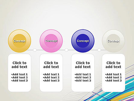 Thin Colorful Lines PowerPoint Template Slide 5