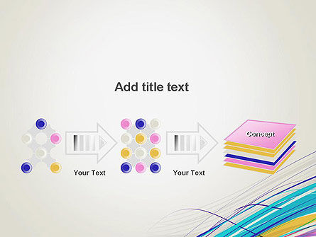 Thin Colorful Lines PowerPoint Template Slide 9