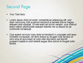 Thin Colorful Lines PowerPoint Template#2