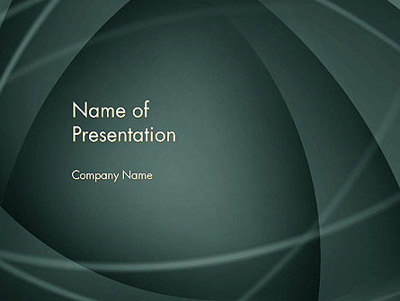 Abstract Diaphragm Style PowerPoint Template