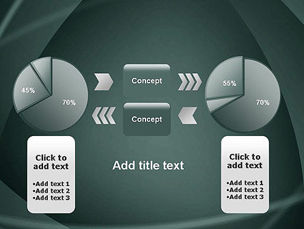 Abstract Diaphragm Style PowerPoint Template Slide 16