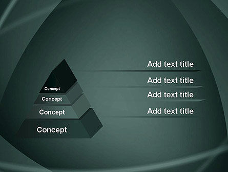 Abstract Diaphragm Style PowerPoint Template Slide 4