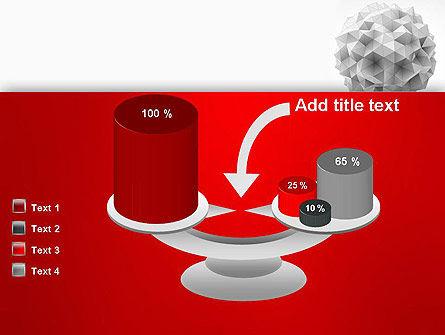 Polygonal Sphere PowerPoint Template Slide 10