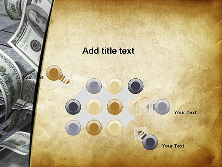 Throwing Money Down Drain PowerPoint Template Slide 10