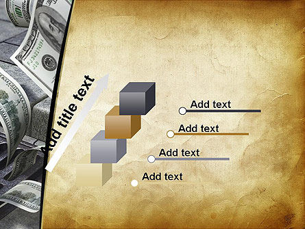 Throwing Money Down Drain PowerPoint Template Slide 14