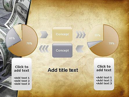 Throwing Money Down Drain PowerPoint Template Slide 16