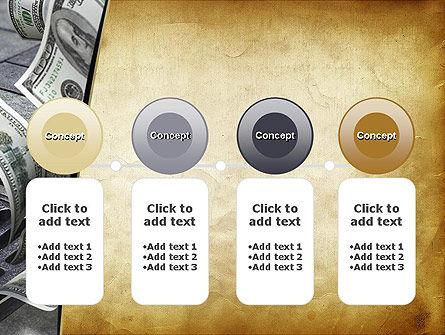 Throwing Money Down Drain PowerPoint Template Slide 5