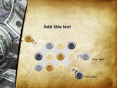 Throwing Money Down Drain PowerPoint Template#10
