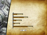 Throwing Money Down Drain PowerPoint Template#11
