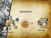Throwing Money Down Drain PowerPoint Template#17