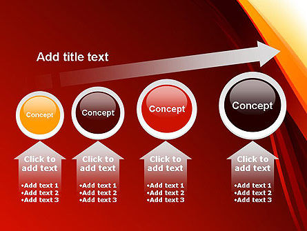 Stylized Abstract Flame PowerPoint Template Slide 13