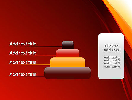 Stylized Abstract Flame PowerPoint Template Slide 8