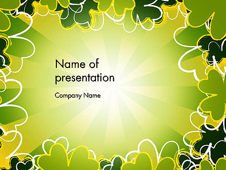 St Patrick Theme PowerPoint Template