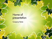 Holiday/Special Occasion: St Patrick Theme PowerPoint Template #13119