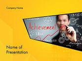 Business Concepts: Business Achievement PowerPoint Template #13120