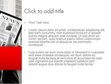 News on Tablet PowerPoint Template, Slide 3, 13121, Careers/Industry — PoweredTemplate.com