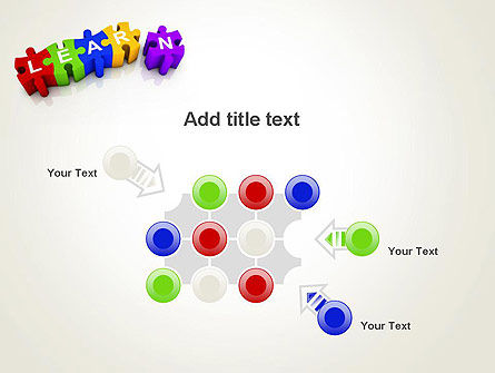 Learn Puzzle PowerPoint Template Slide 10
