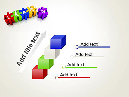 Learn Puzzle PowerPoint Template Slide 14