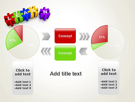 Learn Puzzle PowerPoint Template Slide 16