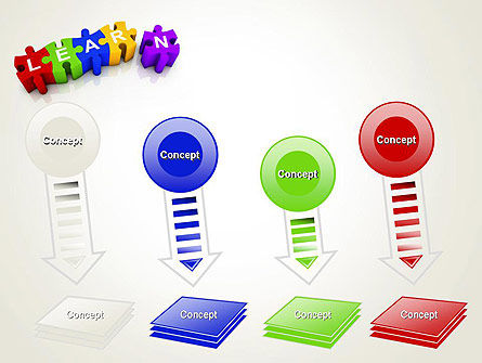 Learn Puzzle PowerPoint Template Slide 8