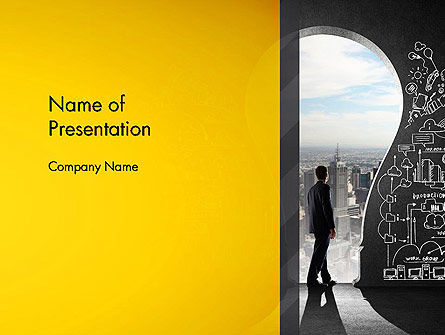 Business Concepts: Project Idea Concept PowerPoint Template #13126