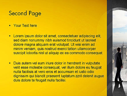 Project Idea Concept PowerPoint Template Slide 2