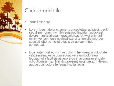 Summer Background PowerPoint Template, Slide 3, 13128, Nature & Environment — PoweredTemplate.com
