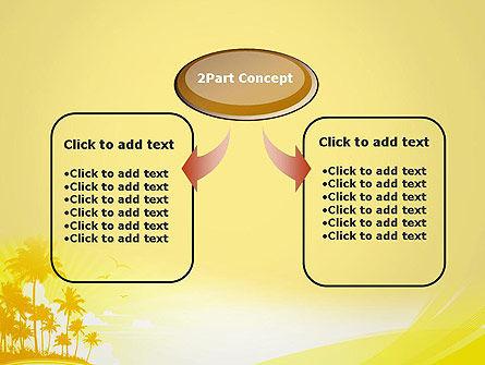 Summer Background PowerPoint Template, Slide 4, 13128, Nature & Environment — PoweredTemplate.com