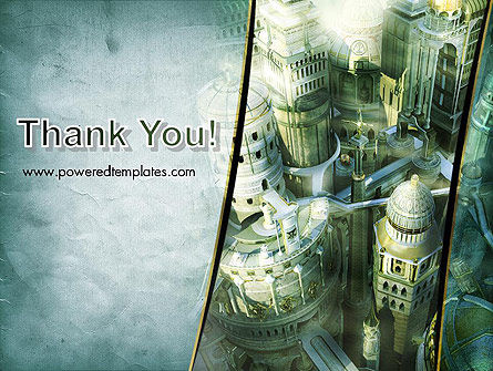 Mystical City PowerPoint Template Slide 20