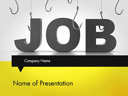 Vacancy PowerPoint Template, 13132, Careers/Industry — PoweredTemplate.com