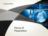 Technology and Science: Cybersecurity PowerPoint Template #13134