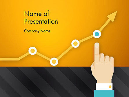 Consulting: Point on the Chart PowerPoint Template #13136