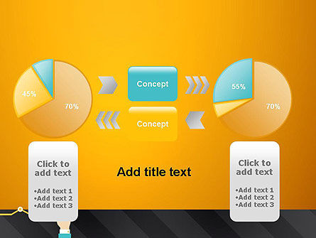 Point on the Chart PowerPoint Template Slide 16