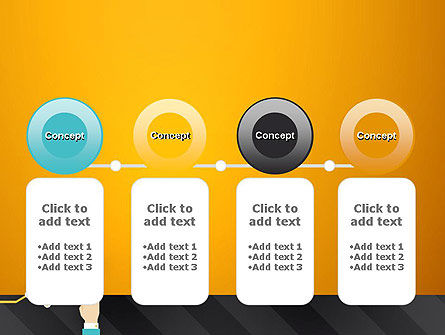 Point on the Chart PowerPoint Template Slide 5