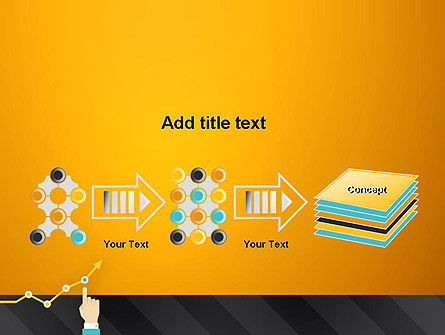Point on the Chart PowerPoint Template Slide 9