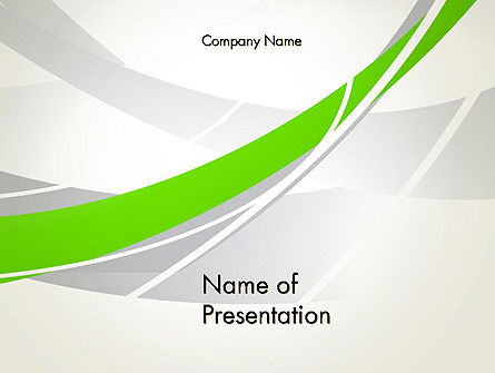 Abstract/Textures: Abstract Curves PowerPoint Template #13139