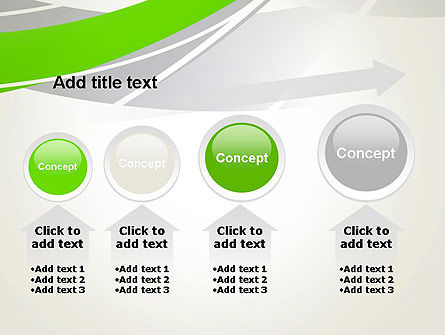 Abstract Curves PowerPoint Template Slide 13