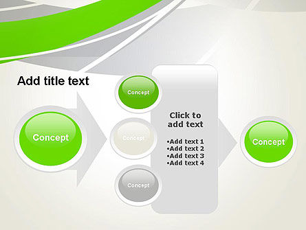 Abstract Curves PowerPoint Template Slide 17