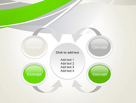 Abstract Curves PowerPoint Template Slide 6